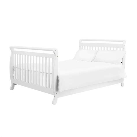 Davinci Emily 4 In 1 Convertible Crib In White With Crib Davinci Crib Mattress