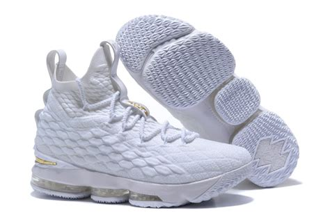 all white basketball shoes new nike lebron 15 all white basketball shoes cheap sale