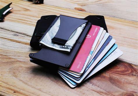 Baellerry Dompet Kartu Dengan Klip Uang Kertas Black 1 dompet kartu anti rfid dengan klip uang silver jakartanotebook