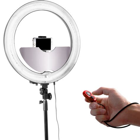 ring light makeup mirror neewer ring light accessories mirror smart phone holder