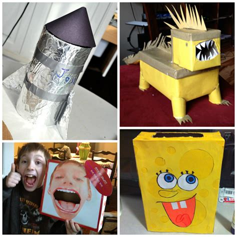 valentines box ideas for boys awesome card boxes boys will crafty morning