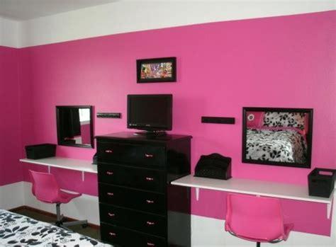 girls hot funky pink bedroom furniture ottoman storage vanity area in corner of veritys room but smaller
