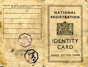 world war 2 identity card template amersham cs