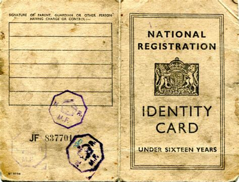 national registration identity card template amersham cs