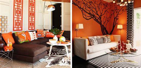 decoracion hogar naranja decorar el hogar en color naranja