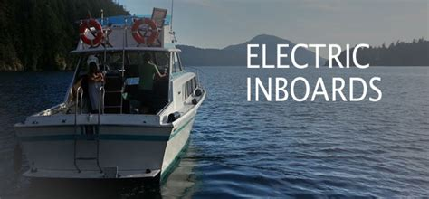 electric boat engine inboard bluefin electric marine electric boat motor propulsion