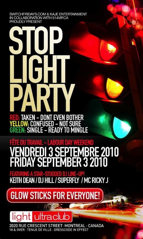 design flyer montreal 14 stop light party flyer psd images stop light party