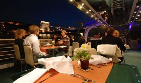 dinner on a boat in the bay budapest candlelit dinner cruise a la carte dinner