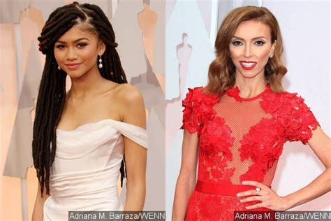 jillian rancic and oscar comment zendaya coleman blasts giuliana rancic for comment on