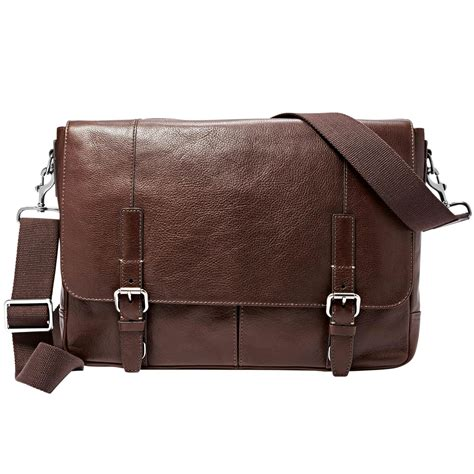 Fossil Perry East West Messenger Bag by Fossil Graham East West Messenger Bag Business Cases