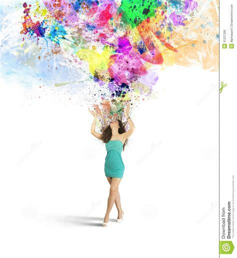 Fashion And Creativity Explosion Stock Photo Image Of Creative Free