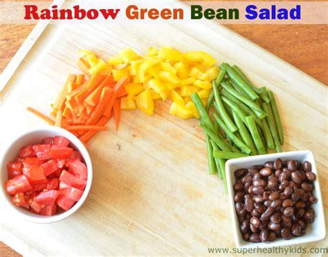 Rainbow Green rainbow green bean salad recipe healthy ideas for