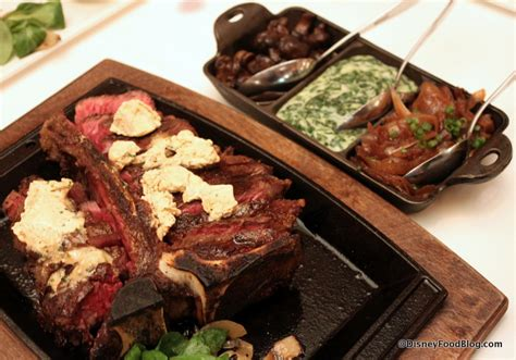 steak house sides review porterhouse for two at yachtsman steakhouse in disney s yacht club resort