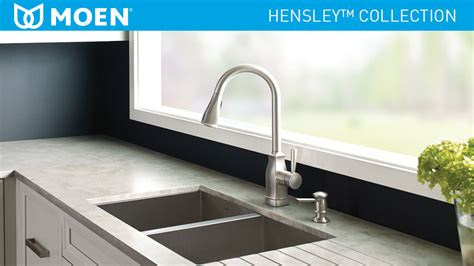moen hensley single handle pull down sprayer kitchen moen hensley single handle pull down sprayer kitchen