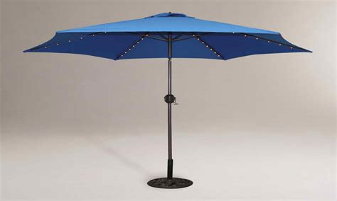 Patio Table Parasol Patio Table Umbrella With Led Lights Best 25 Patio Umbrella Lights Ideas On Garden 4 Sunshade