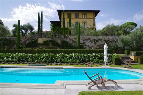 Small Pool House Exploring The Grounds Of Sting S Il Palagio Tuscan Estate