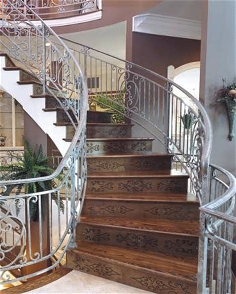 Decorative Stair Risers by Decorative Stair Risers Traditional Staircase Other