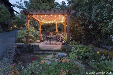 oregon garden lights portland landscapers offer unique lighting ideas for
