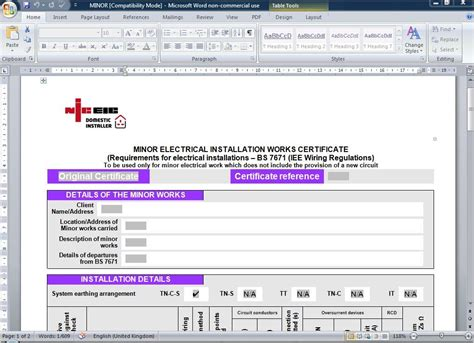 megger fluke niceic electrical certificates software ebay