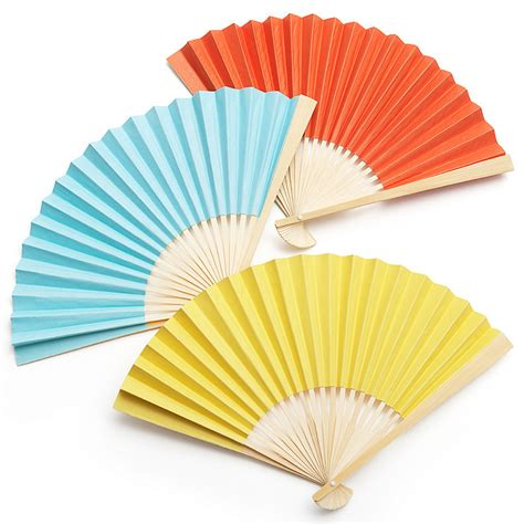 Paper Fan - d i y accordian paper fan the knot shop