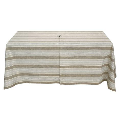 lintex outdoor treated patio tablecloth 60x84