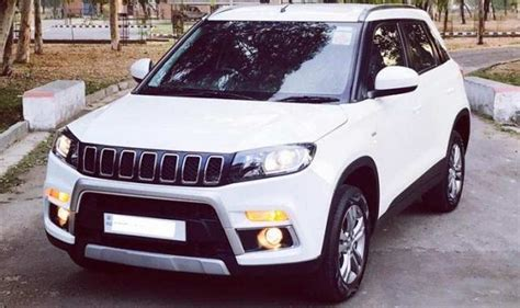 maruti jeep here is how maruti suzuki vitara brezza is modified into