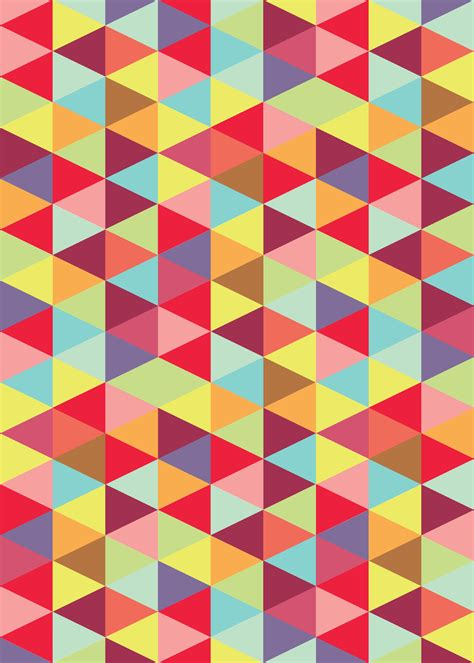 color patterns colorful triangle pattern patterned triangles patterns and prints