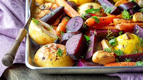 medley of roasted root vegetables roasted root vegetables recipe san diego sharp health news