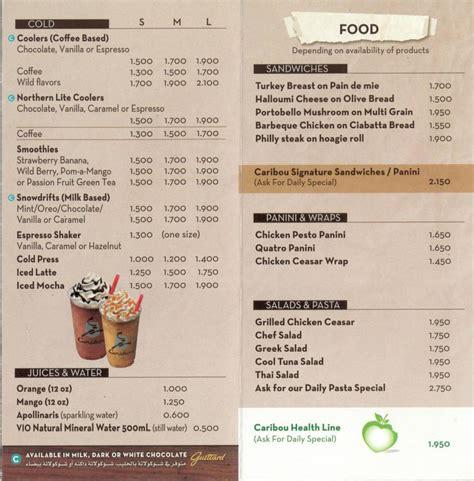 Caribou Coffee   Kuwait Paper Dump