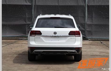 new volkswagen teramont size crossover is like the