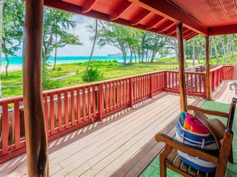 Waimanalo House Rental Beach Front 4 Bedroom 4 Bathroom Waimanalo House Rentals