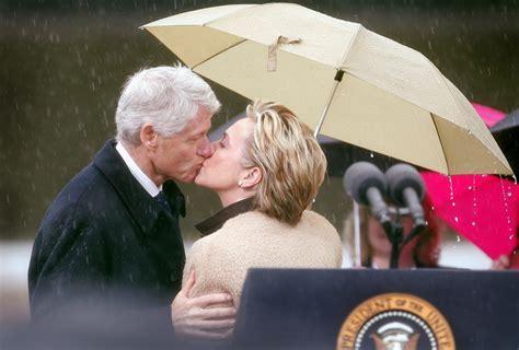 Bill And Hillary Clinton Celebrate 40th Wedding Anniversary