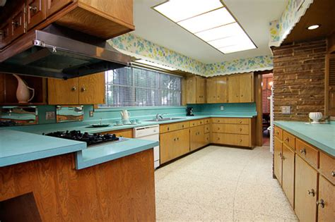mid century modern kitchen countertops swankienda indeed 1957 time capsule house in historic