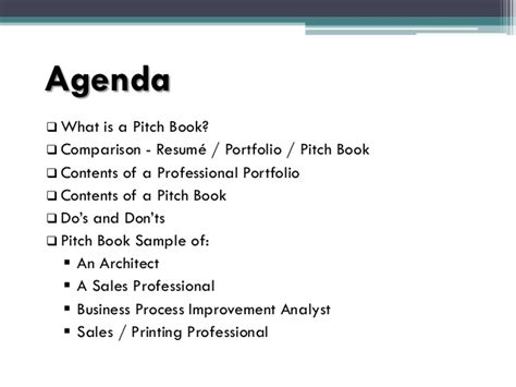 powerpoint pitch book template pitch book presentation