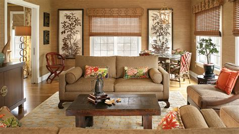 tan living room decorating with tan leather sofa native home garden design