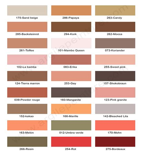 Couleurs De Peinture by Couleurs Peinture Argile Et Laque Satin 233 E 165 Teintes 100