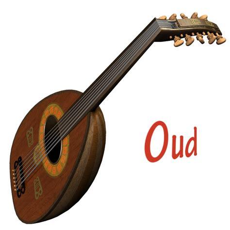Musical Instrument Giveaways - oud musical instrument 3d figure assets 3d models simon 3d