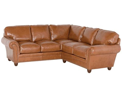 American Made Sectional Sofas Classic Leather Keswick Sectional 694 Keswick Sectional