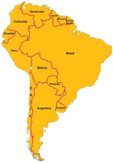 south america map countries south america countries related keywords south america