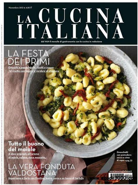 pdf cucina italiana la cucina italiana novembre 2012 free ebooks