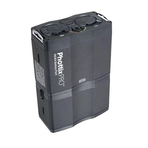 Phottix Indra500 Ttl Studio Light With Battery Pack Kit Lights With Battery Pack