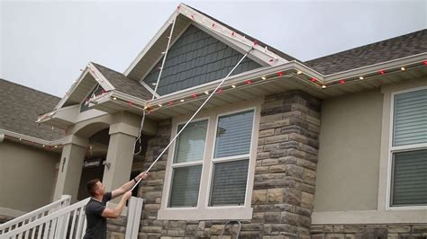 how do you hang lights on a metal roof best way to hang lights on roof