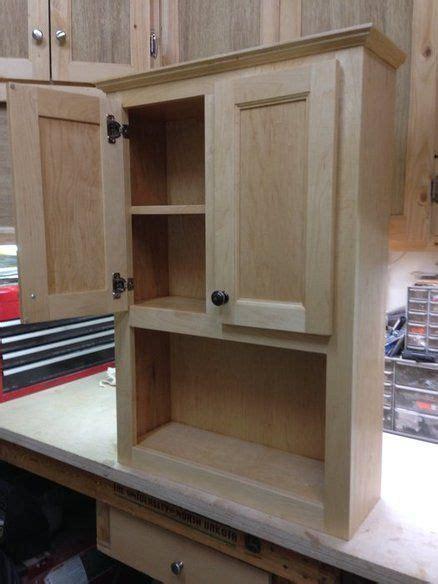 bathroom wall cabinet woodworking pinterest bathroom