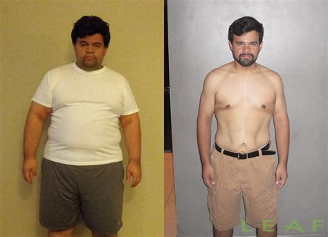 David Diaz Loses 100 Pounds In 6 Months With Leaf Lifestyle