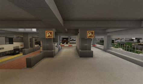 realistic parking  spots minecraft building