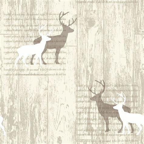 stag wallpaper grey stunning stag wallpaper various designs in soft natural