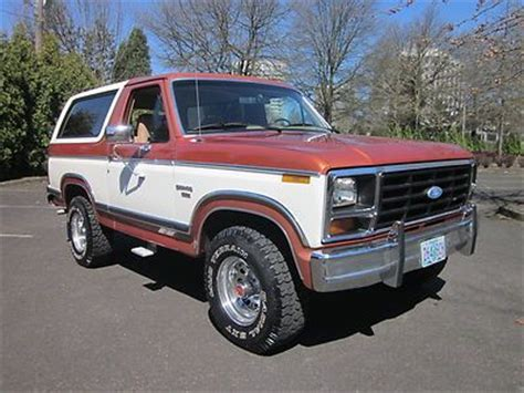 how to learn all about cars 1984 ford f150 regenerative braking buy used 84 ford bronco xlt no reserve lifted 31 quot v8 4x4 automatic extra clean in