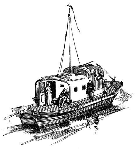 houseboat clipart black and white house boat clipart etc