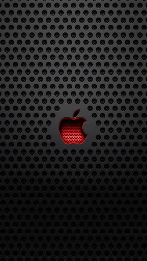 red crystal apple logo iphone wallpaper iphones ipod 135 best wallpapers images on pinterest phone