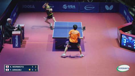 us open table tennis 2017 2017 us open table tennis chionships taimu arinobu vs